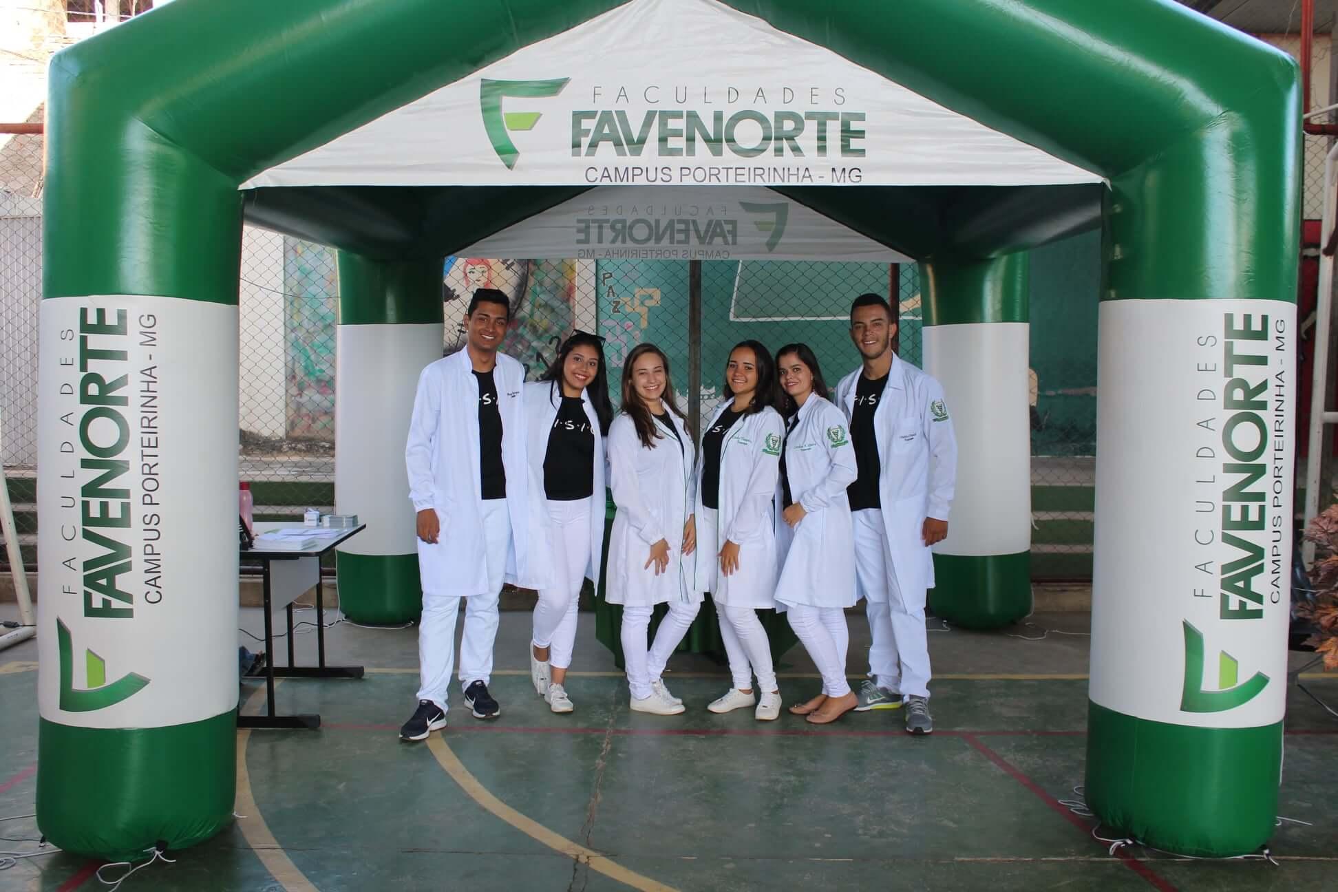 Participação da Favenorte da Escola Estadual Miguel José Da Cunha
